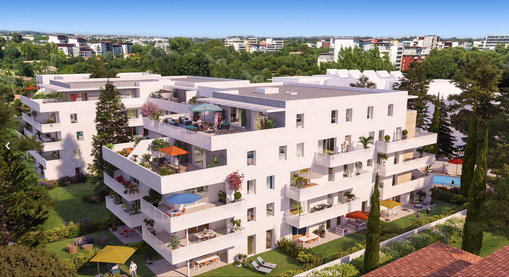 Image_, Appartement, Montpellier, ref :CO-ANT-C25