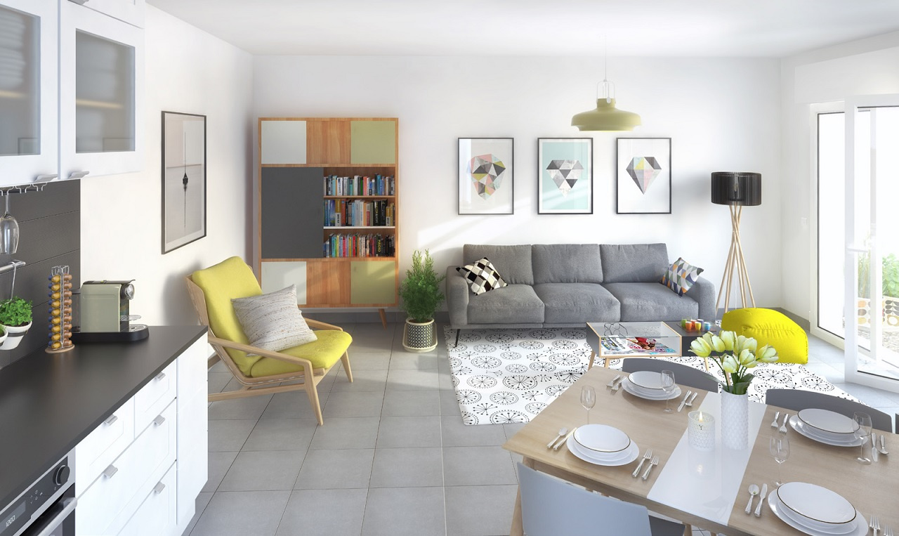 Image_, Appartement, Montpellier, ref :URNV3-A08